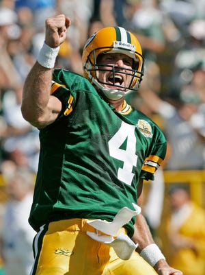 """Old Number Four"" pays homage to retired Green Bay Packers quarterback Brett Favre."