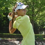 Julia Dean of Brighton overcame a slow start to finish strong and finish in a tie for fifth at the AJGA girls event in Bloomfield Hills on Thursday. Another Brighton native, Allyson Geer, finished seventh.