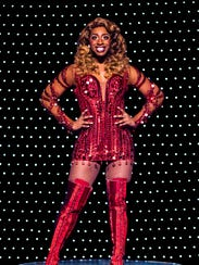 Jos N. Banks performs as Lola in the National Tour of Kinky Boots.