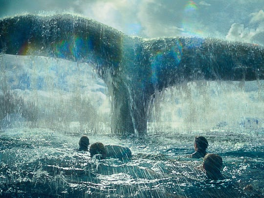 """In the Heart of the Sea"" tells the story of the whale that inspired the novel ""Moby Dick."""