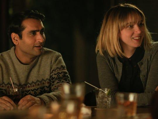 "Kumail Nanjiani (left) and Zoe Kazan star in ""The Big"