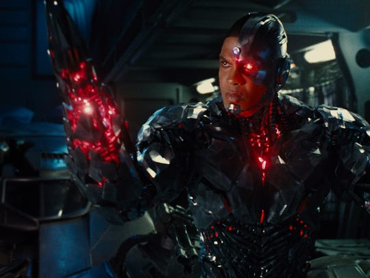 "Ray Fisher, who was born in Camden and grew up in Lawnside, reprises his role as the superhero Cyborg in ""Justice League."""