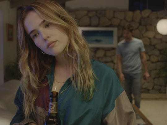 "Zoey Deutch stars in ""Flower."""