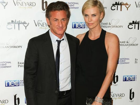 Sean Penn and Charlize Theron