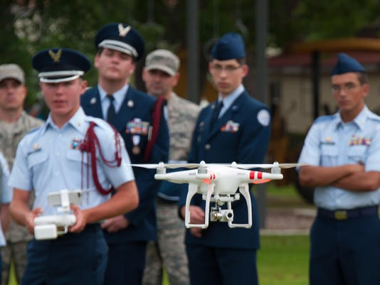 JROTC Cadets Aim High with Multicopter