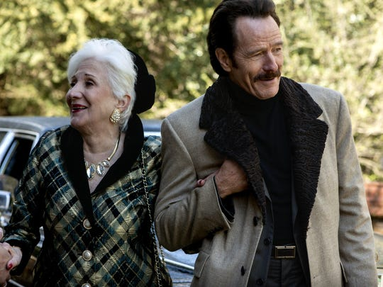 """Olympia Dukakis stars as Aunt Vicky and Bryan Cranston as undercover U.S. Customs agent Robert Mazur in """"The Infiltrator."""""""