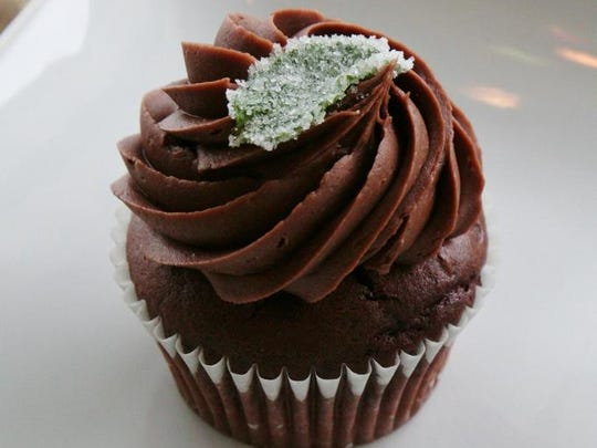 Perhaps you'd prefer your julep as a solid rather than a liquid. Try this Mint Julep Cupcake: a chocolate bourbon cake with mint chocolate icing and candied mint leaf topper. Yum. $1.75 each, $18 a dozen at The Bakery at Sullivan University, 3100 Bardstown Road.