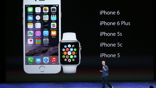 CEO Tim Cook talks about the new Apple products coming to market.