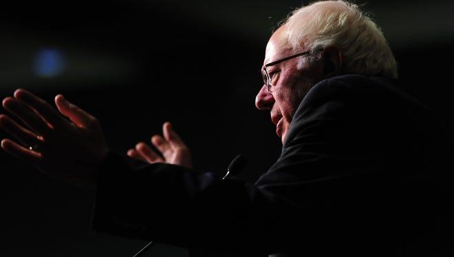 Democratic candidate for President Sen. Bernie Sanders