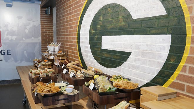 The Green Bay Packers unveiled their stadium concessions food offerings.