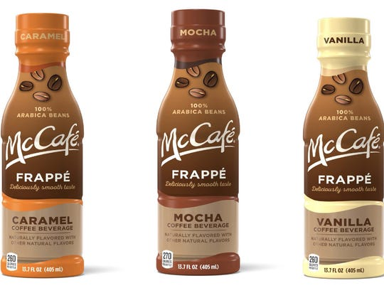 McDonald's bottled McCafe drinks.