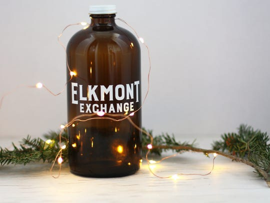 Brand new craft brewery and restaurant Elkmont Exchange sells its brews in growlers-to-go.