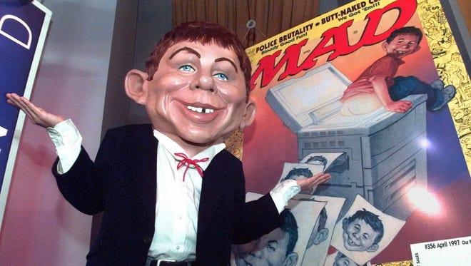 Mad Magazine mascot Alfred E. Neuman