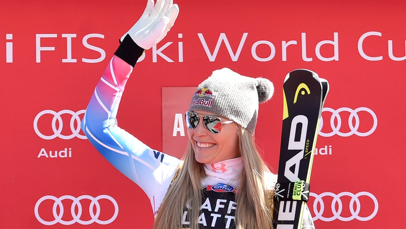 Lindsey Vonn on backlash to her Trump comments: Some 'hoping I break my neck'