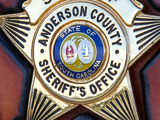 Anderson County Sheriff's Office badge stock art