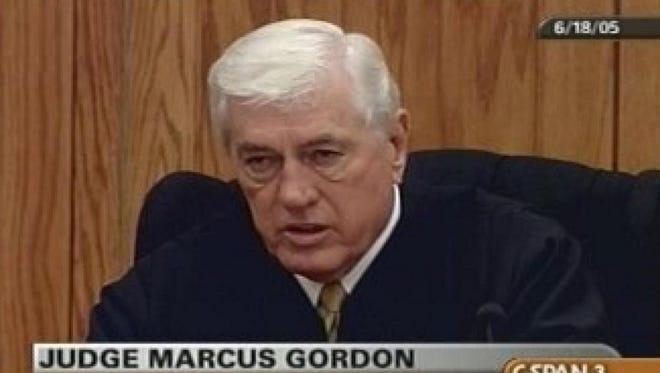 Circuit Judge Marcus D. Gordon presided over the 2005 murder trial of Edgar Ray Killen.