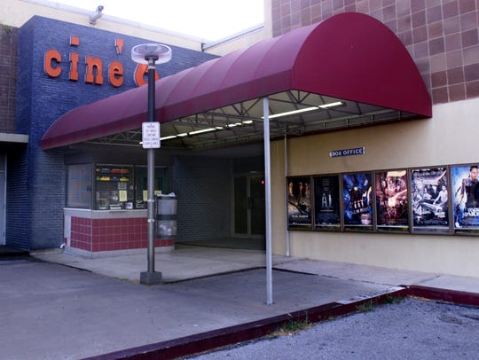 Cine 6 closed on Aug. 2, 2001.