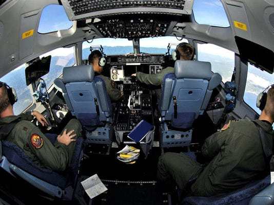 C-17 Tng Mission over Hawaii (2)