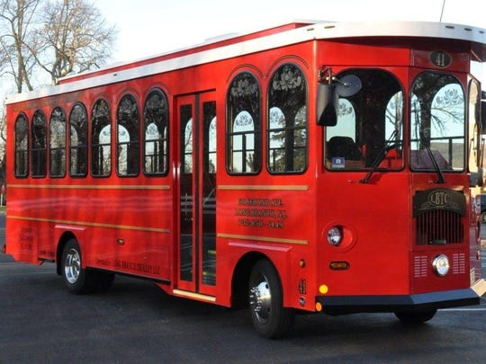 The Long Branch Trolley will make continuous loops around Asbury Park for the Light of Day Winterfest this weekend.