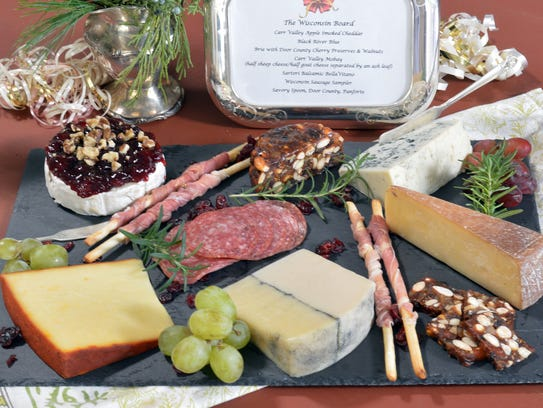 The Wisconsin Board showcases state cheeses, charcuterie