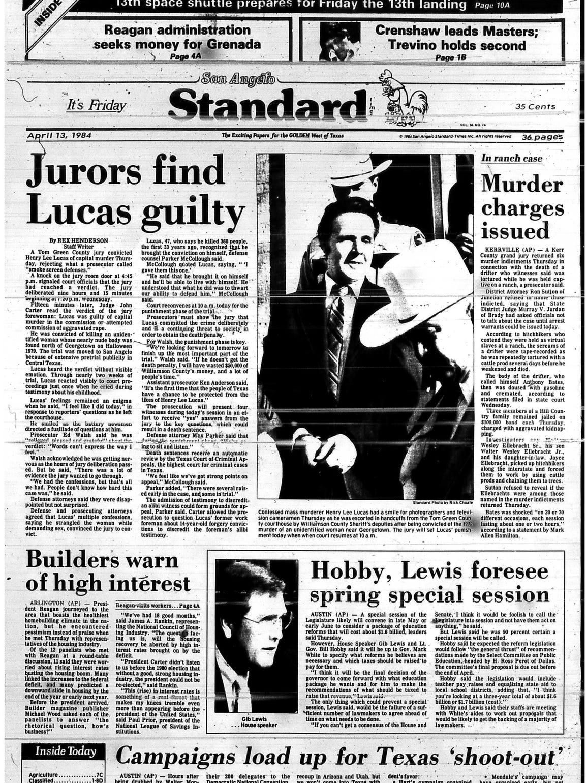 Front page April 1984.