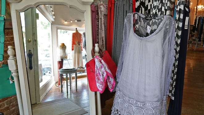 Lesley Jane is a boutique located at 150 S. Main St. in Zionsille, Thursday, July 3, 2014.