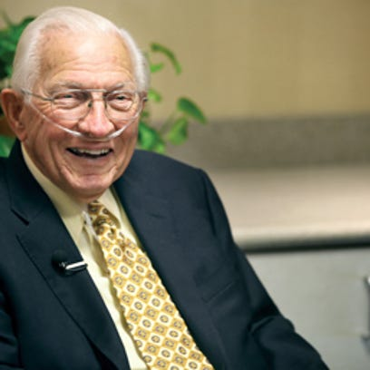 Dr. James Edwards smiles while joking around with the