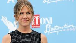 Jennifer Aniston in July 2016.