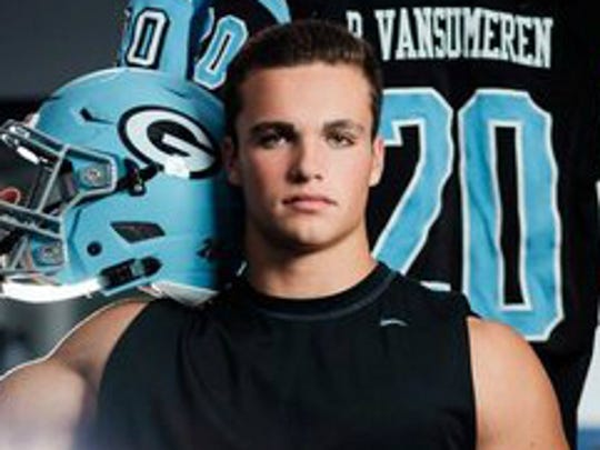 Ben VanSumeren is out of Essexville Garber. He is an athletic 3-star TE (6-3, 228) who flipped from Iowa to the Wolverines.