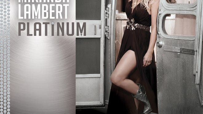 """This CD cover image released by RCA Nashville shows """"Platinum,"""" by Miranda Lambert."""