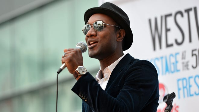 Aloe Blacc will sing the National Anthem before the 2014 Daytona 500 on Feb. 23.
