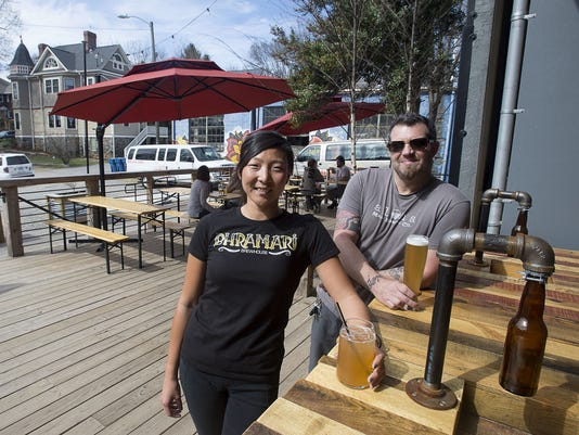 Breweries go outdoors