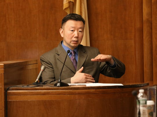 Medical Examiner Dr. Di Wang was the first witness in the trial on Wednesday. He described Nazerah Bugg's fatal bullet wound.