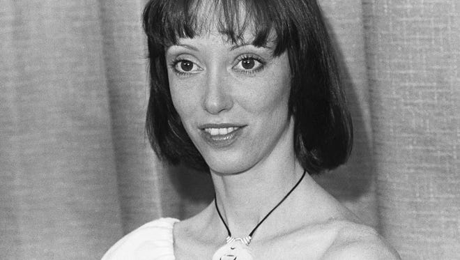 Shelley Duvall in May 1977 in Cannes.