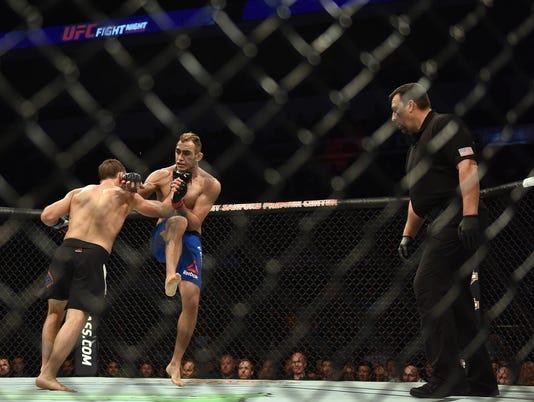 UFC Fight Night  91 - Denny Sanfor Premier Center
