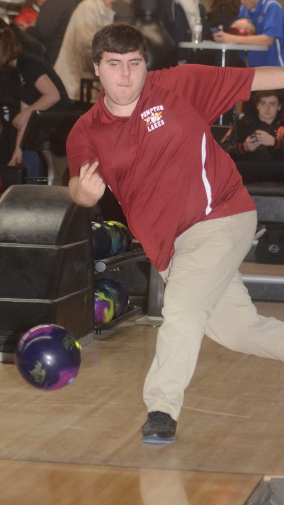 David Neil of Pompton Lakes bowled his first career 300 game in the Cardinals' NJIC Colonial Division opener on Dec. 8.