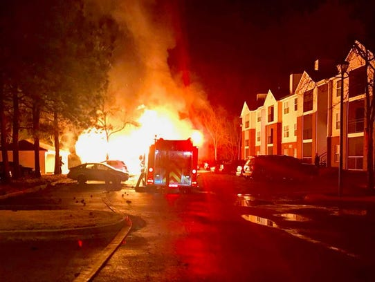 Montgomery Fire/Rescue responded to a fully involved