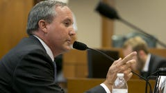 Texas Attorney General Ken Paxton testifies on July