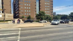 There was a scuffle at the Dallas County jail on August