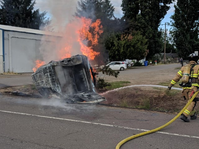 Impairment being investigated by Oregon State PD Highway 99 crash