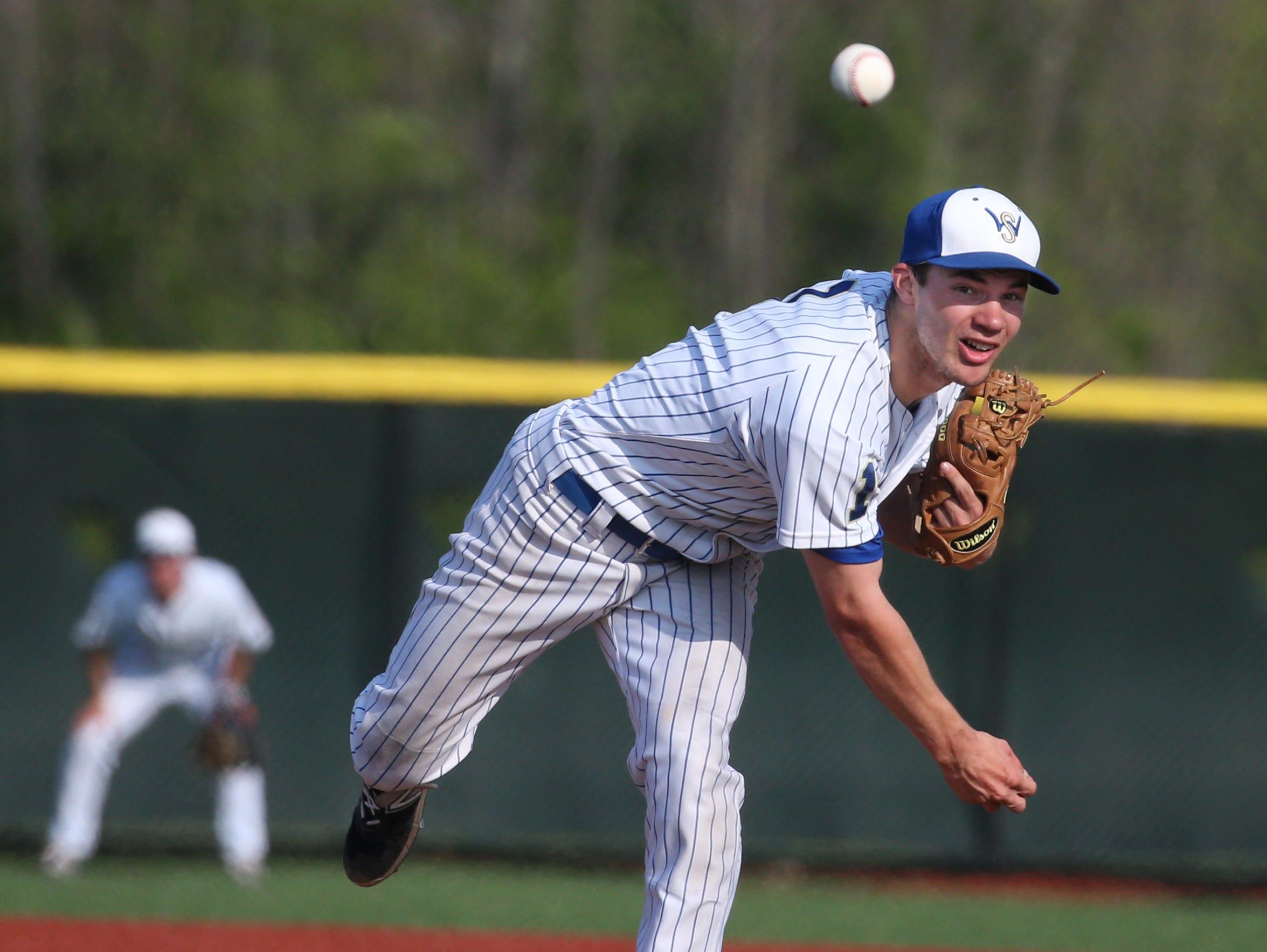 Webster Schroeder pitcher Shane Marshall.