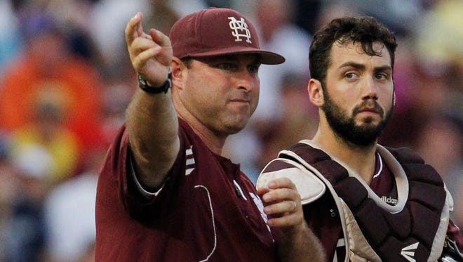 Mississippi State pitching coach Butch Thompson is nearing a deal to coach Auburn, according to a report.