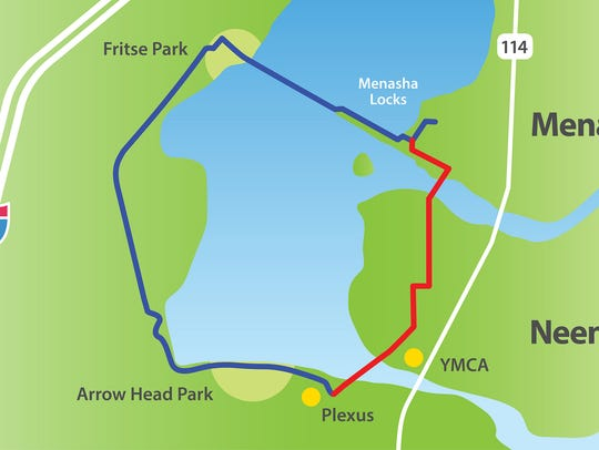 Neenah and Menasha are working to complete a trail