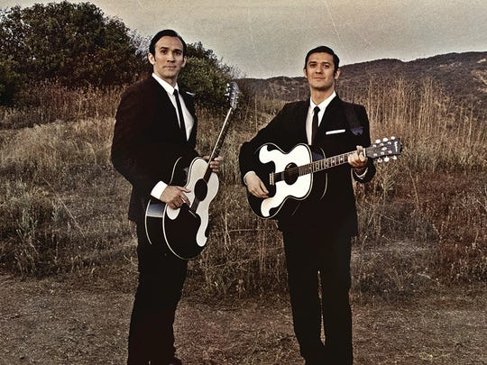 The Everly Brothers Experience featuring The Zmed Brothers perform Sept. 2 at Spencer Theater.
