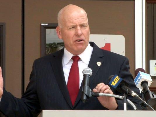 Superintendent David M. Healy