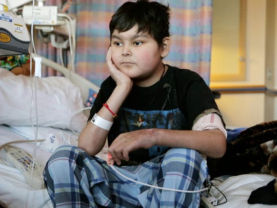 Jose, a patient at Children's National Hospital, is
