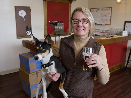 Little Dog Brewing Co. in Neptune City, owned by Gretchen Schmidhausler, takes its name from her dog, Quincy.