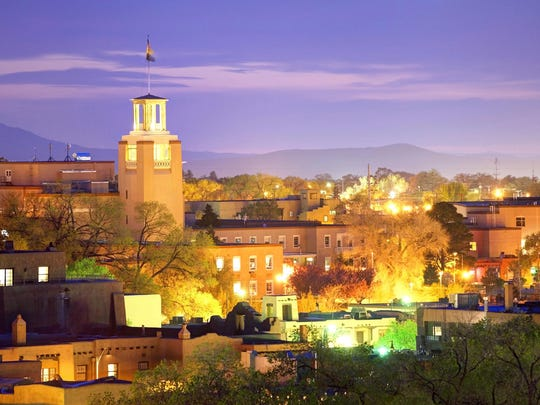 Santa Fe: The New Mexico capital has a lively downtown area with pueblo-style architecture, Spanish churches and the Georgia O'Keeffe Museum.