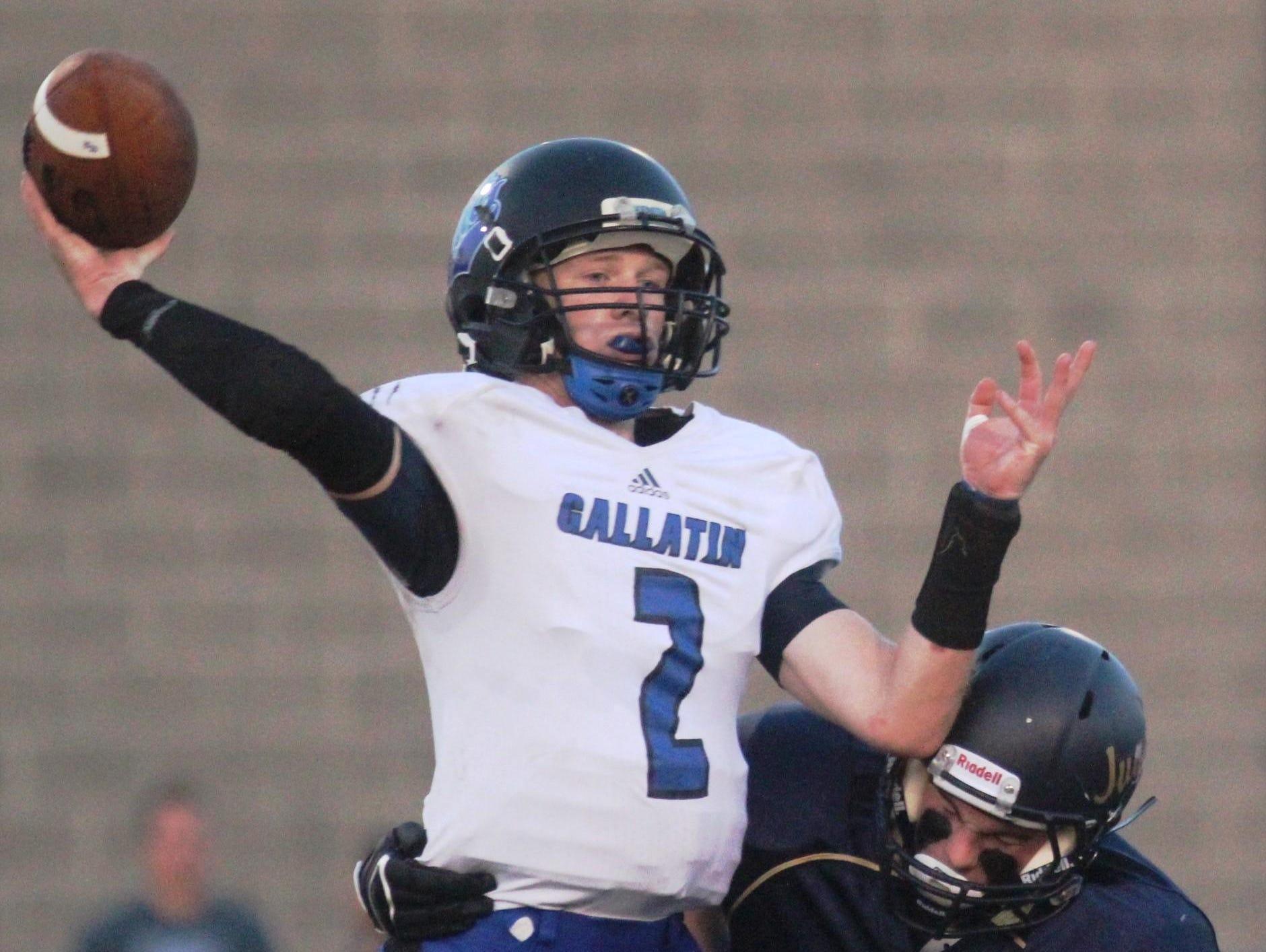 Trent Brock returns under center for Gallatin County.