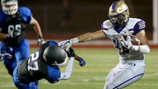 North Kitsap running back Dax Solis and the Vikings won't play a game in Week 9. The Olympic League 2A champions begin postseason play in two weeks.